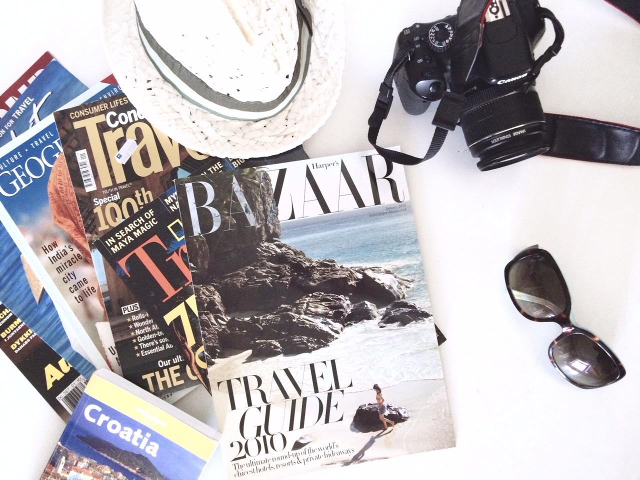 Reisebladene har tatt ferie